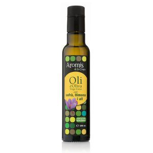 OLI D'OLIVA VERGE EXTRA ECO AMB SAFRÀ, LLIMONA I ALL. 250ml